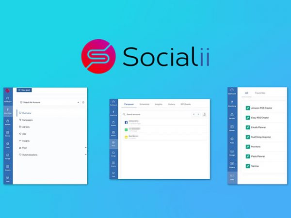 HIT1MILLION-Socialii All-in-One Social Media Manager: Lifetime Subscription for $49