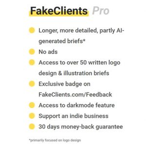 HIT1MILLION-FakeClients Design Brief Generator: Lifetime Subscription for $19