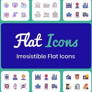 HIT1MILLION-Flat Icons Bundle: Lifetime Subscription for $29