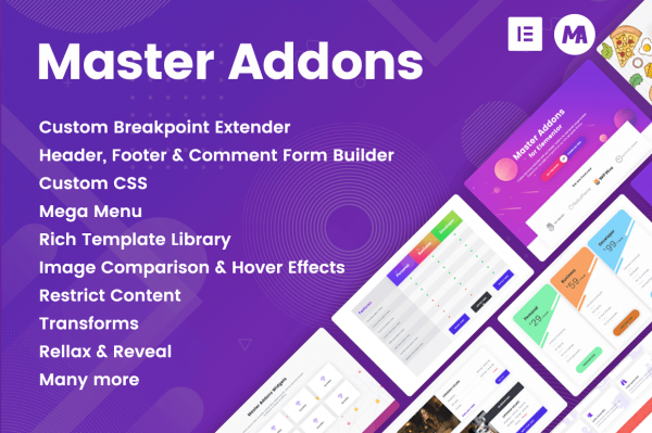HIT1MILLION-Master Addons for Elementor with 40+ Customizable Elements – only $17!