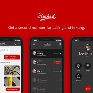 HIT1MILLION-Hushed Private Phone Line: Lifetime Subscription for $19