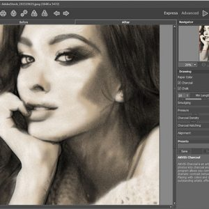 HIT1MILLION-Akvis Charcoal Artistic Tool: Lifetime License for $58