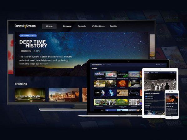 HIT1MILLION-CuriosityStream HD Plan: Lifetime Subscription for $199